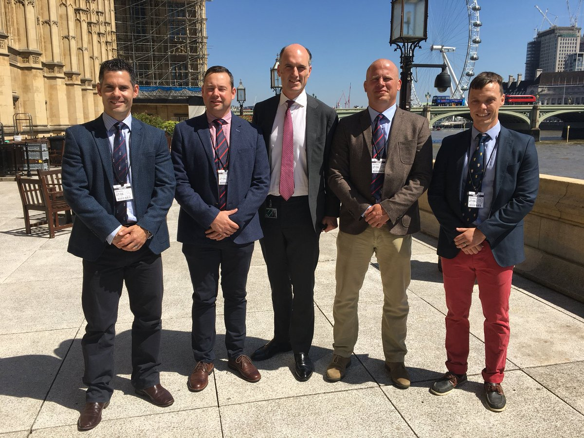 Leo Docherty MP              Royal Military Police Visit to Parliament