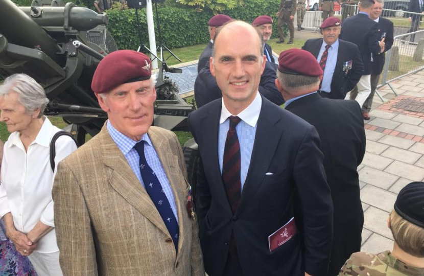 Aldershot was honoured to have the Para Reg return for the Falklands War 35th anniversary. Honoured to meet Lt Col Chris Keeble DSO
