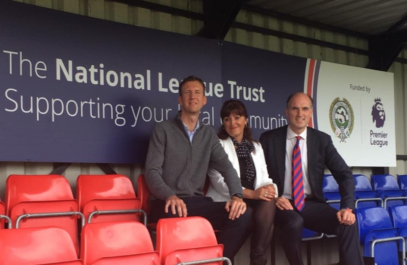 Aldershot Town FC Foundation meeting